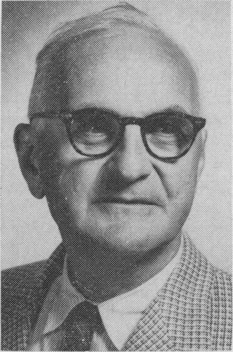 圖2 美國精神醫學會會長的艾文.卡麥隆(Ewen Cameron, 1901-1967)