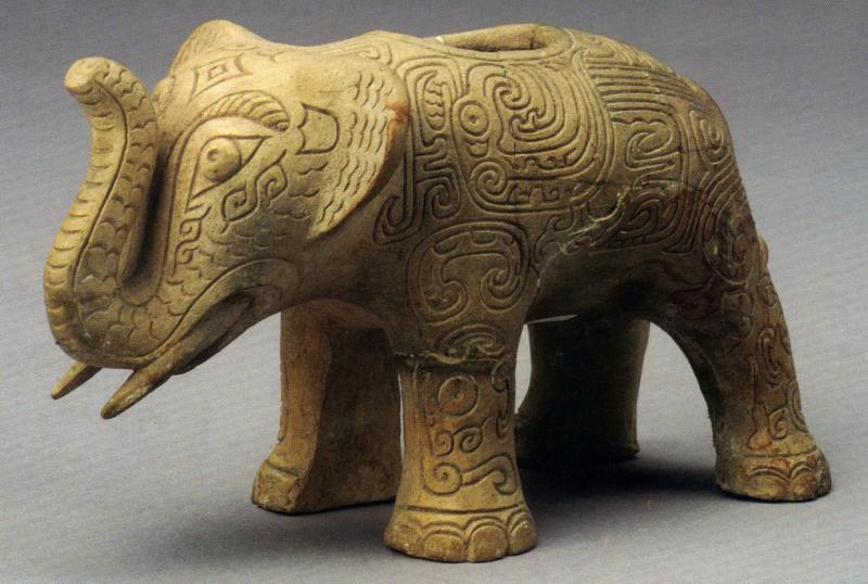 新鄉市博物館-白陶象