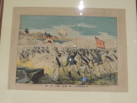 日軍攻佔鳳山圖