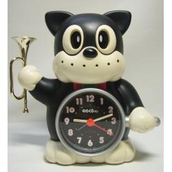 圖2_1980年代講談社出售的「野良黑」鬧鐘