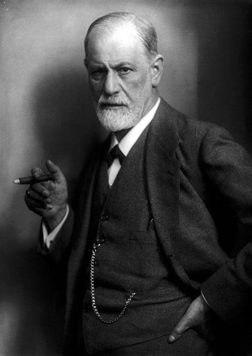 圖2 精神分析大師佛洛伊德(Sigmund Freud)