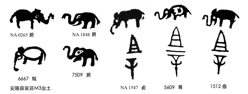商代金文族徽
